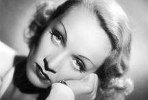 Marlene Dietrich / Marlene Dietrichová (občanským jménem Maria Magdalene Dietrich, provdaná Sieberová, *27. prosince 1901 Berlín Schöneberg – † 6. května 1992, Paříž), byla německo-americká herečka a zpěvačka německého původu. / by Aňa