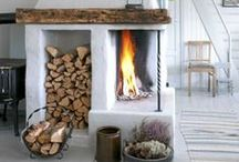 Lovely fireplaces