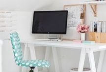 Home Office / Organizational tips, ideas for a better setup, and resources for putting together the perfect home office for solopreneurs.
