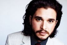Kit Harington aka Jon Snow!! / Hot hot hot! No other words for him!! / by Joyce Nagel-Mortell