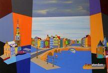 Acrylic paintings / My paintings