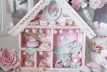 Dollhouses and miniatures / dollhouses and miniatures diy and printables