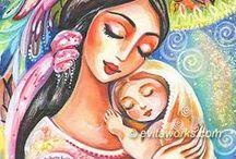 ♡ UMENIE ♡♥♡ matka ♡♡ / by Aňa