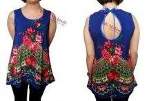 Tunika, bluzka, koszula / Tuniki,bluzki, koszule dla kobiet w każdym wieku i rozmiarze. Z tkanin ludowych, z folkowymi wstawkami i inne, wszystkie piękne i szyte przez nasze krawcowe.  Zapraszam również na stronę po tuniki folkiem malowane http://folkmelanii.pl/34-tuniki