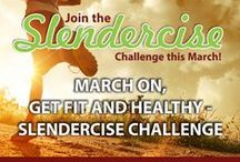 "Slendercise - Daily Workouts / Losing weight is great but you also need to change your lifestyle. Here are ""Slendercise"" workouts for you to try"