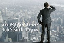 Job Search Tips / Effective job search tips by many big career resources and proven by experts.