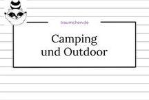 Camping und Outdoor / Schöne Ideen und Anleitungen für DIY-Projekte mit dem Schwerpunkt Camping und Outdoor. Grillplätze, Campinglampen oder Zelteinrichtung, Wandermaterial oder Kartenhalter. Alles praktisch und selbstgemacht.