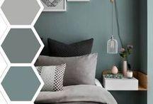 Home inspiration - colors / Muren, vloeren, kozijnen, plinten etc
