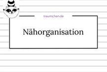 Nähorganisation / Anleitung, Idee und Inspiration zum Organisieren und Ordnen der Nähutensilien. Vom Nähschrank bis zur kunstvollen Aufbewahrung von Nadeln oder Nähgarn.