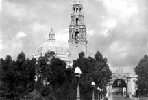Historic Balboa Park / Museum of Man and Balboa Park. Historic photos circa 1915.