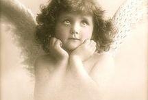 Vintage angels.