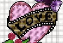 Cross stitch  / by Brenna Grindstaff-Seely