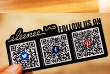 laser cut business cards / by eleenee LAB