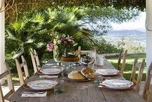 outdoor living / prepare something to eat, grab a drink, invite your friends and make your outdoor space your favorite escape