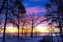 Sunrises, Sunsets and Rainbows / Sunrises and Rainbows over Lake Bemidji