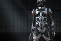 Cyberpunk / Augmented Reality