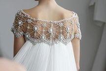 Wedding Dress Inspiration / Wedding Dress Crystal