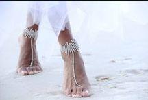 Anklet / Beach sandals / Anklet / Beach sandals