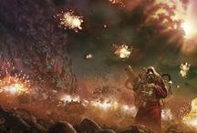WH40K / Warhammer 40,000 science fantasy roleplaying game setting