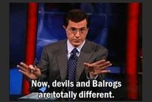 Fair & balanced... / News when you need it and sometimes when you don't. The Colbert Report with Steven Colbert.