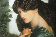 ART  *Pre- Raphaelites  &Co.* / The Pre-Raphaelite Brotherhood (also known as the Pre-Raphaelites) was a group of English painters, poets, and critics, founded in 1848...