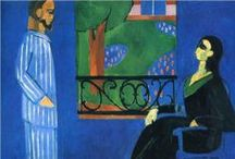 "ART * Matisse* / Henri-Émile-Benoît Matisse was a French  revolutionary and influential artist of the early 20th century, best known for the expressive color and form of his Fauvist style                      .""My choice of colors does not rest on any scientific theory; it is based on observation, on sensitivity, on felt experience.""  – Henri Matisse"