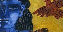 ART * GREEK  ARTISTS * /  Ὁ βίος βραχὺς, ἡ δὲ τέχνη μακρὴ...  Ars longa, vita brevis...     Ιπποκράτης