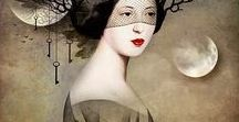 ART *Christian Schloe* / Austrian artist Christian Schloe mixing with a lot of skills painting, illustration and photography to give us a poetic and fascinating universe!...