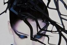 Photos: Serge Lutens,fashion design... / French  multi-talented artist whose careers encompass fashion design, perfume design, hair styling, photography and film-making...