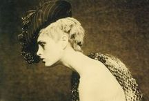 "Photos: Paolo Roversi /  Italian-born (1947)  fashion photographer who lives and works in Paris. ""My photography is more subtraction than addition. I always try to take off things. We all have a sort of mask of expression. You say goodbye, you smile, you are scared. I try to take all these masks away and little by little subtract until you have something pure left. A kind of abandon, a kind of absence. It looks like an absence, but in fact when there is this emptiness I think the interior beauty comes out.""P.R."