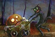 Halloween Cats & Witches / by nancy newcome