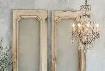 Antiques, Patinas, Distressed... / Artfully distressed walls &furnitures...Aged to perfection...