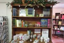 Garden Shop at River Farm / After you enjoy our 25 acres of gardens, stop by our shop for garden tools and books -- special collections for gardening with children, and for edible landscaping. Local crafts too from River Farm materials and nearby artists.