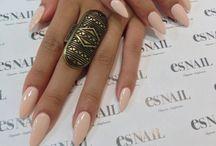 Nails / Pretty nail colours, nail varnish and nail styles etc.