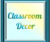 Classroom Decor & Bulletin Boards / What fun!  I LOVE seeing/creating unique and fun classroom bulletin boards and decor.