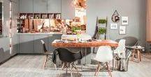 Szare kuchnie / Szare kuchnie stają się coraz popularniejsze. Szary stał się modny. Szara kuchnia może być nowoczesna i jednocześnie elegancka.