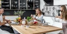 Kuchnia CALMA biały - funkcjonalność / Kuchnia jako serce domu i pomieszczenie multifunkcyjne