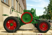 Antique Tractors around the Country / This is a collection of pictures of antique tractors and re-purposed tractor parts. Most of these tractors do not belong to a museum but are independently owned.