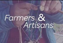 Meet the Farmers & Artisans / Who's working behind the Fair Trade Labels? Farmers and Artisans around the world of course! Share what they have to say about Fair Trade! / by Fair Trade Campaigns