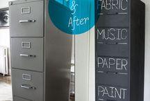 Anti-clutter / Organization