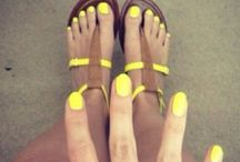 Y E L L O W / Just the color yellow makes me smile