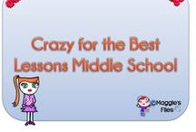 Crazy for the Best Middle School Lessons / Great teaching resources for middle school  join us: simsmaggie1@hotmail.com