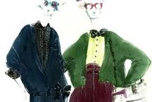 Mood + Illustration // Fashion