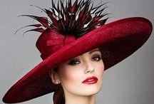 Božské klobouky/ Divine hats / Staré i nové fotografie klobouků pro dámy