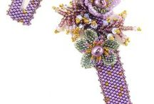 beaded flowers / how to make...