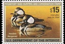 Fuglemærker / Fugle på frimærker fra alverdens lande