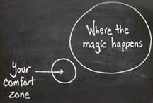 """Adaptability / We naturally like to stay in our comfort zone but making sure we are in """"stretch"""" as often as we can builds up our skill to be adaptable and cope well with uncertainty and change. We need to make that comfort zone larger and larger."""
