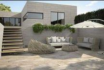 Pavimentos y revestimientos de exterior / Si estas pensando en redecorar el pavimento o revestimiento exterior de tu hogar echa un vistazo a este tablero para inspirarte.