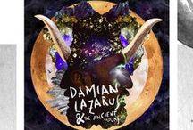 Artwork • The Magician Damian Lazarus / #artwork #damianlazarus #design #collage #inspiration