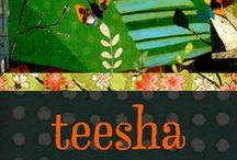 Teesha Moore / journal, sketch